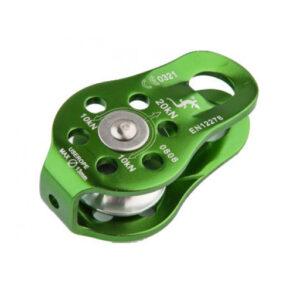 Grøn-Fixe Pulley Enkelt rulle