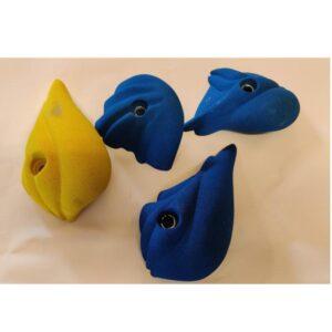 Positive XL blå og gul