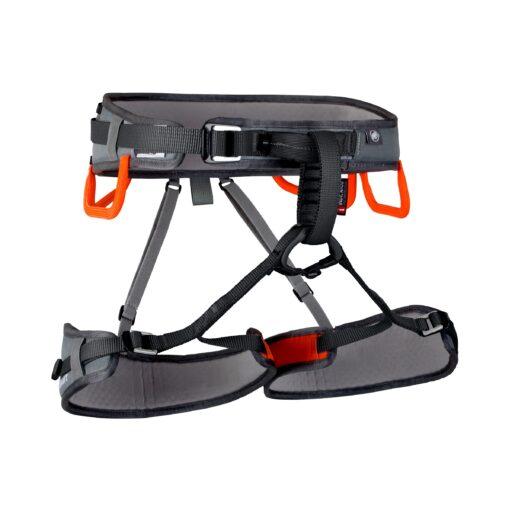 Ophir 3 Slide Titanium-Dark-Orange Front