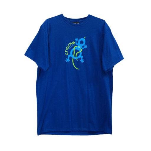 Charco blå t-shirt front