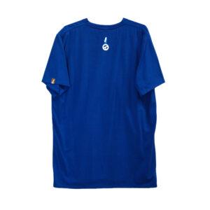 Charco blå t-shirt back